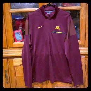 Minnesota Golden Gopher dri fit Nike sweatshirt XL